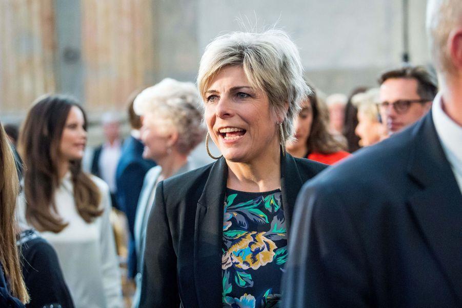 La princesse Laurentien des Pays-Bas à Stockholm, le 11 avril 2018
