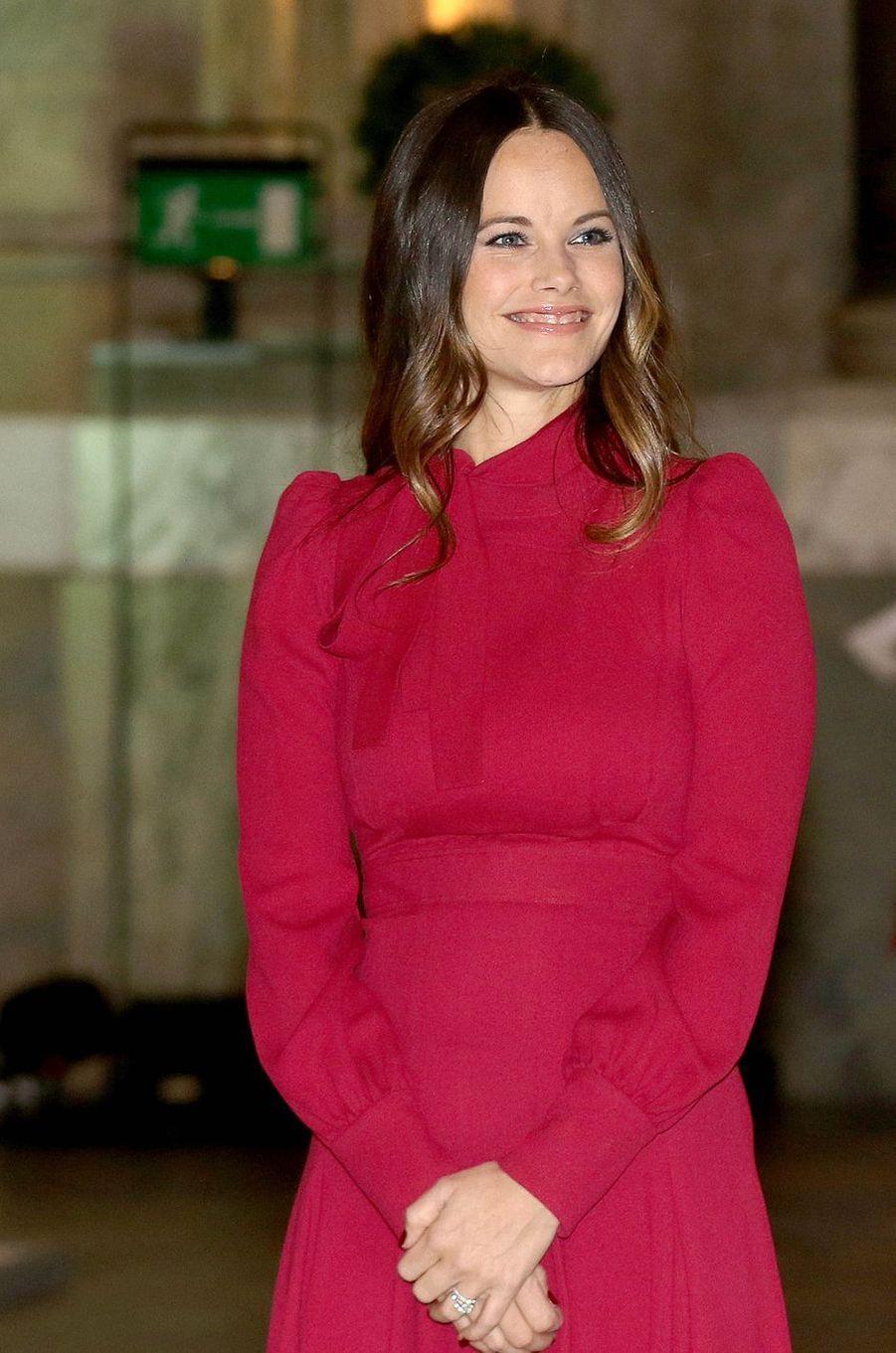 La princesse Sofia de Suède à Stockholm, le 17 octobre 2016
