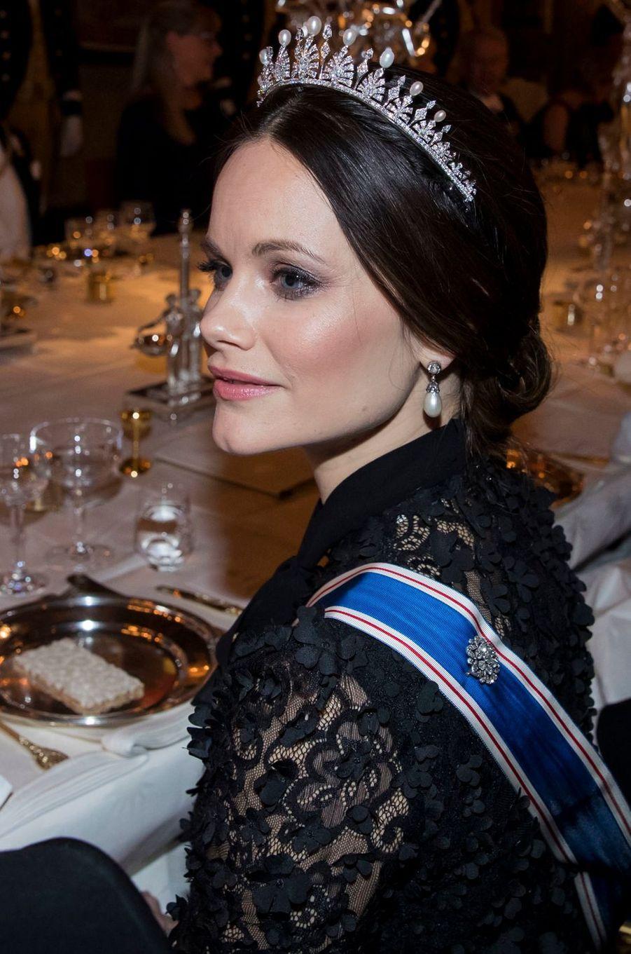 La princesse Sofia de Suède à Stockholm, le 17 janvier 2018