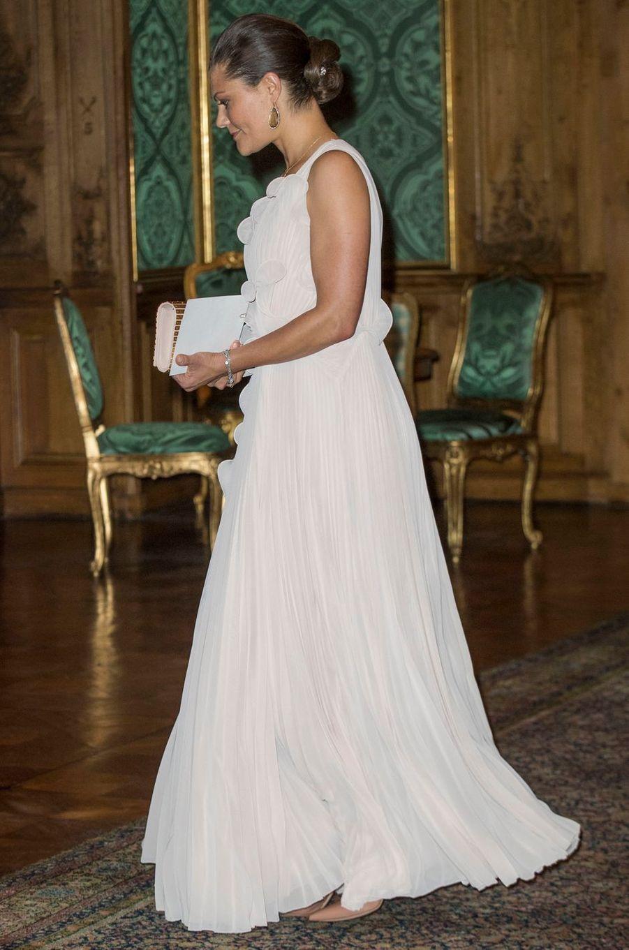 La princesse Victoria de Suède, à Stockholm le 22 septembre 2017