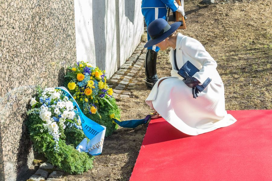 La princesse Victoria de Suède à Stockholm, le 13 mars 2017