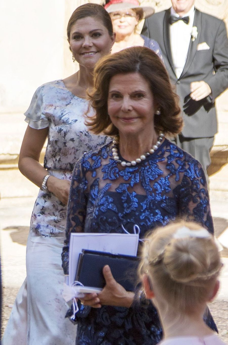 La princesse Victoria et la reine Silvia de Suède à Palma de Majorque, le 5 août 2017