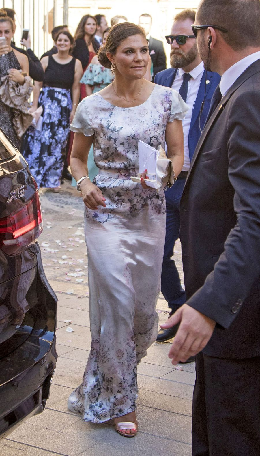 La princesse Victoria de Suède à Palma de Majorque, le 5 août 2017