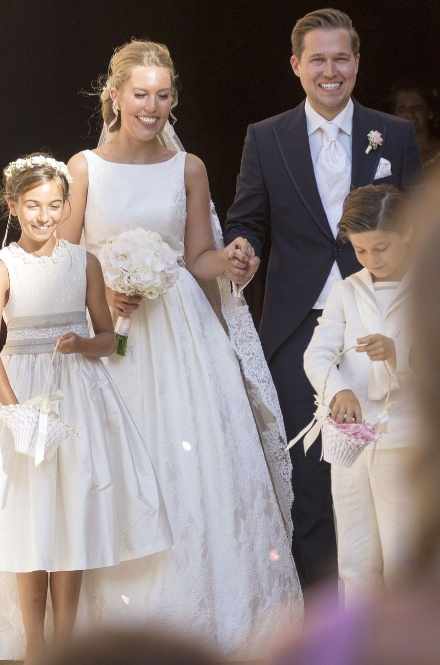 Helena Christina Sommerlath et son mari Ian Martín à Palma de Majorque, le 5 août 2017