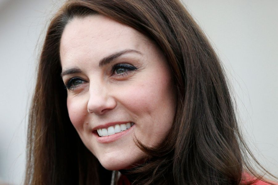 La duchesse de Cambridge, née Kate Middleton, le 5 février 2017