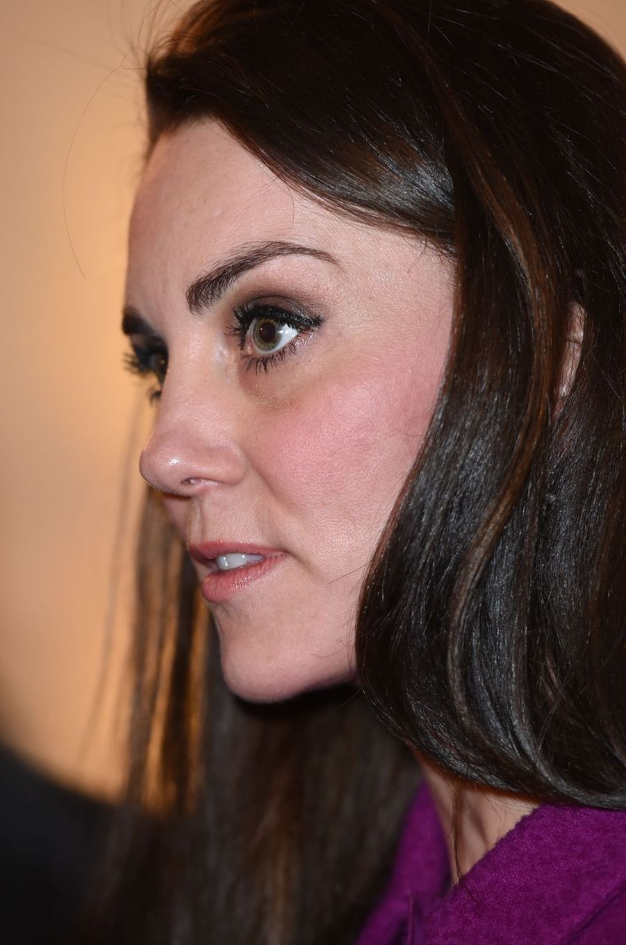 La duchesse de Cambridge, née Kate Middleton, le 6 février 2017