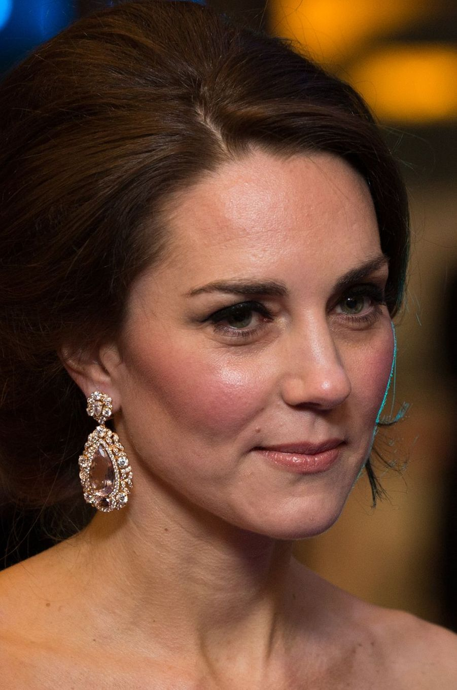 La duchesse de Cambridge, née Kate Middleton, le 12 février 2017