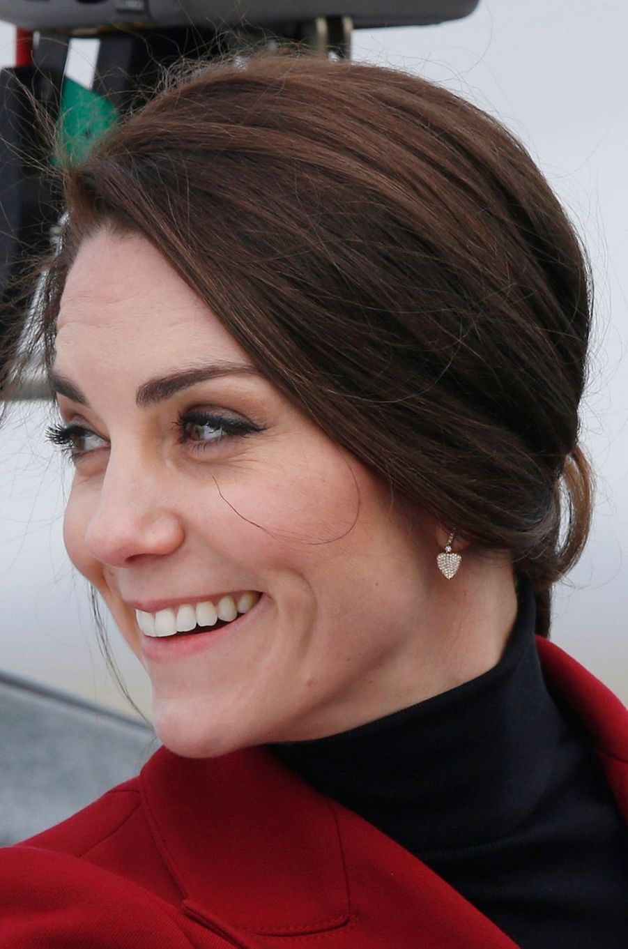 La duchesse de Cambridge, née Kate Middleton, le 14 février 2017