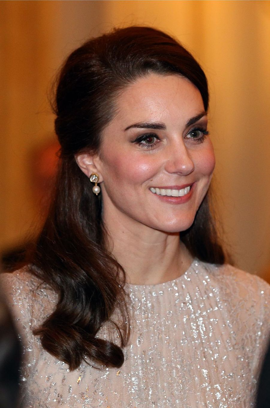 La duchesse de Cambridge, née Kate Middleton, le 27 février 2017