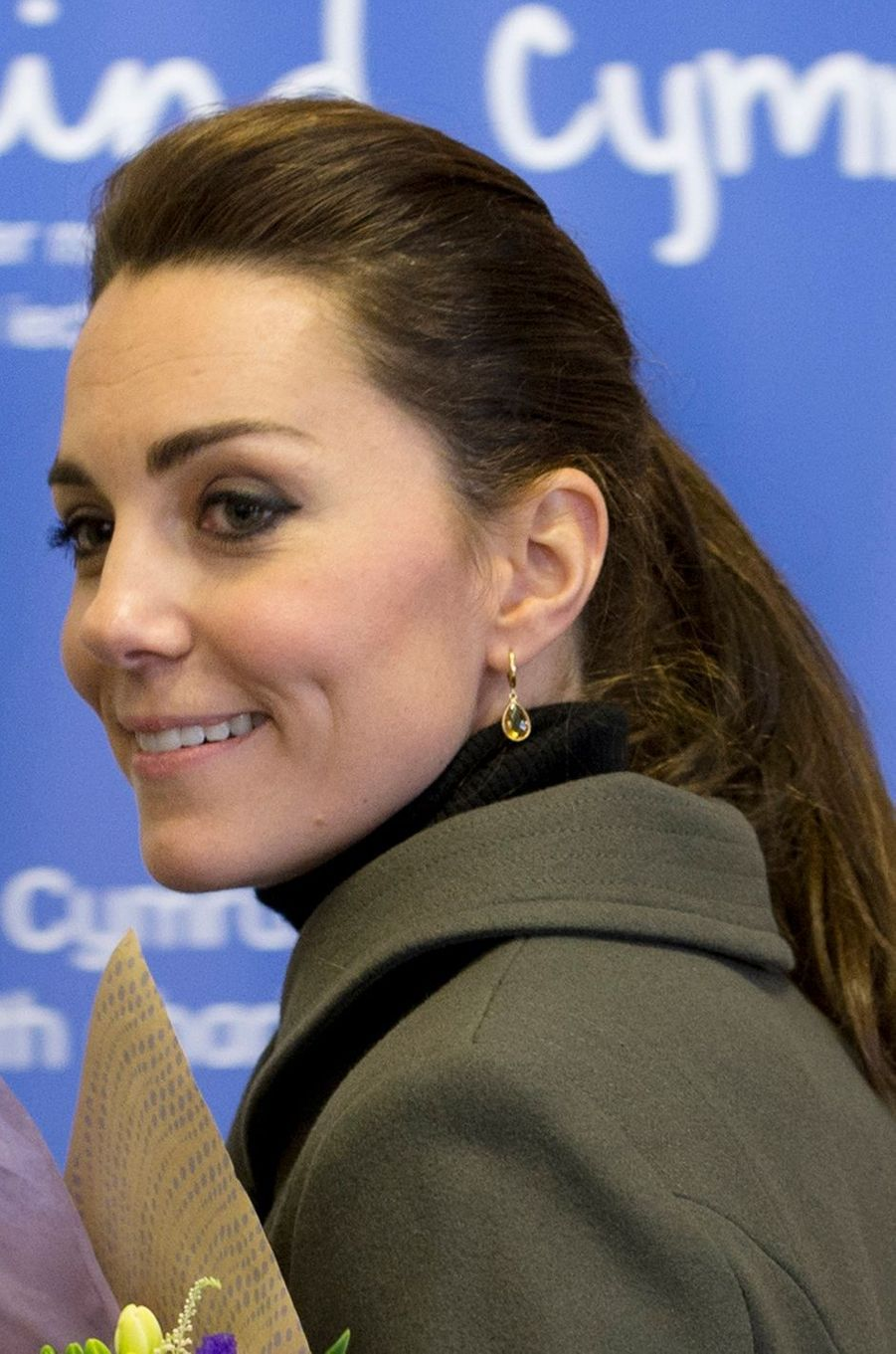 La duchesse de Cambridge, née Kate Middleton, le 20 novembre 2015