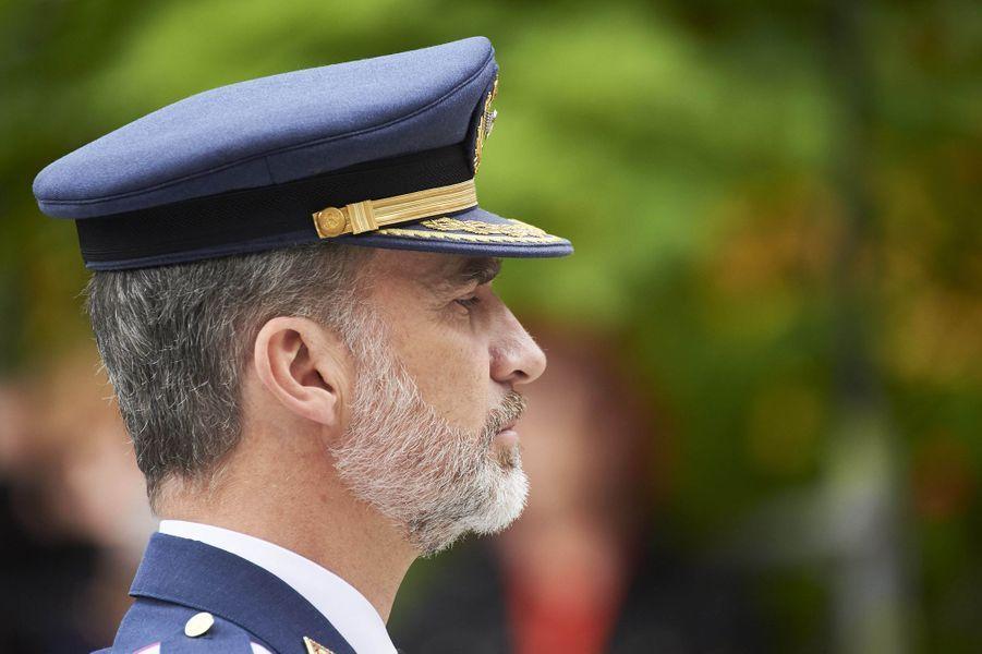 Le roi Felipe VI d'Espagne à Logroño, le 25 mai 2018