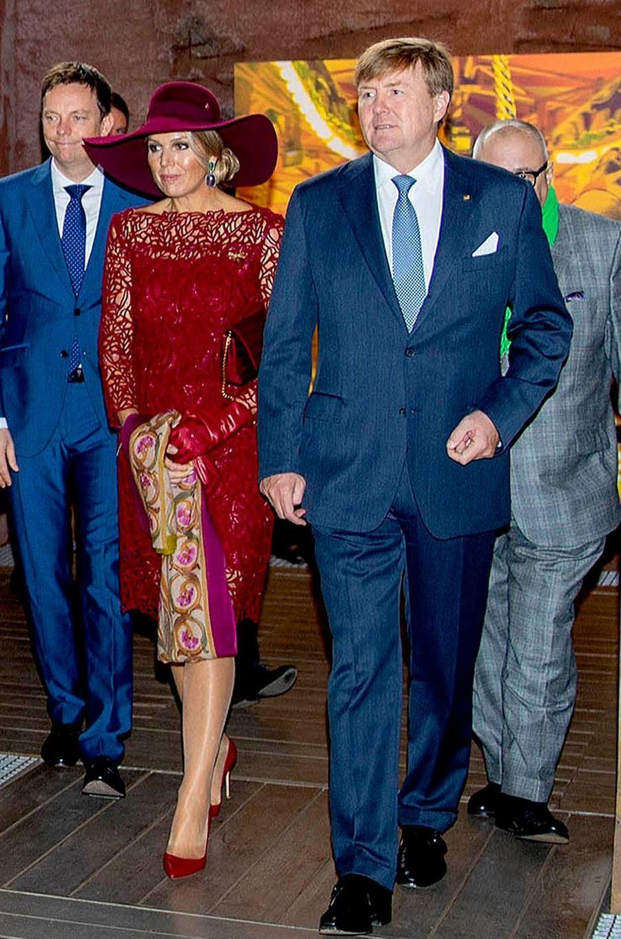 La reine Maxima des Pays-Bas en Allemagne, le 12 octobre 2018