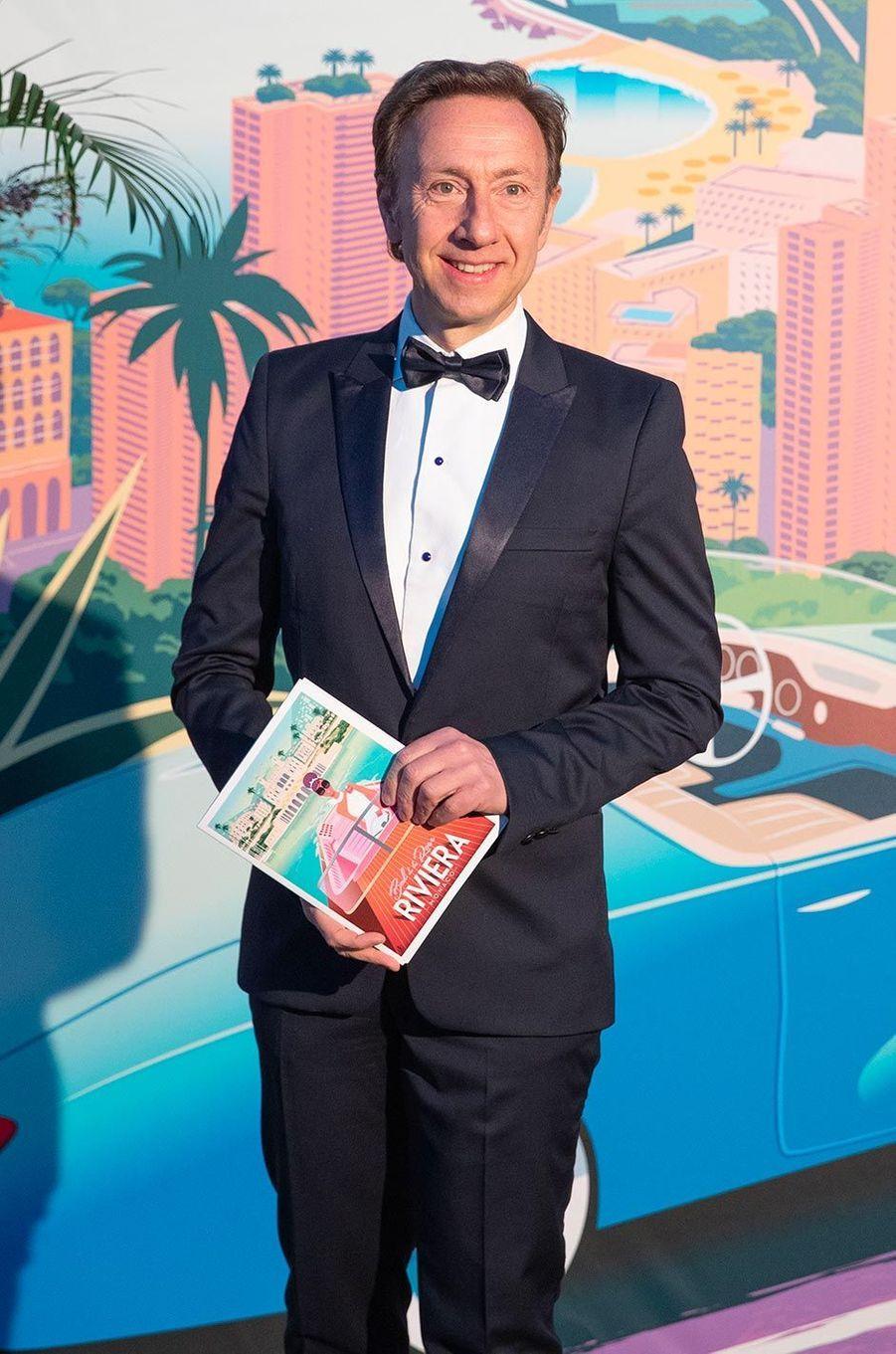 Stéphane Bern au Bal de la Rose, au Sporting Monte-Carlo, le 30 mars 2019.