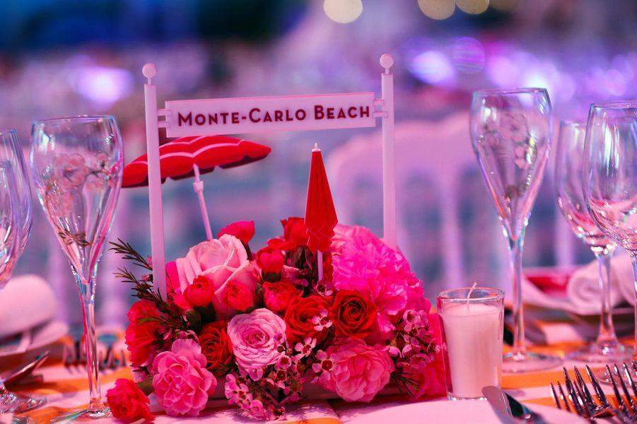 Le Bal de la Rose a eu lieu au Sporting Monte-Carlo, le 30 mars 2019.