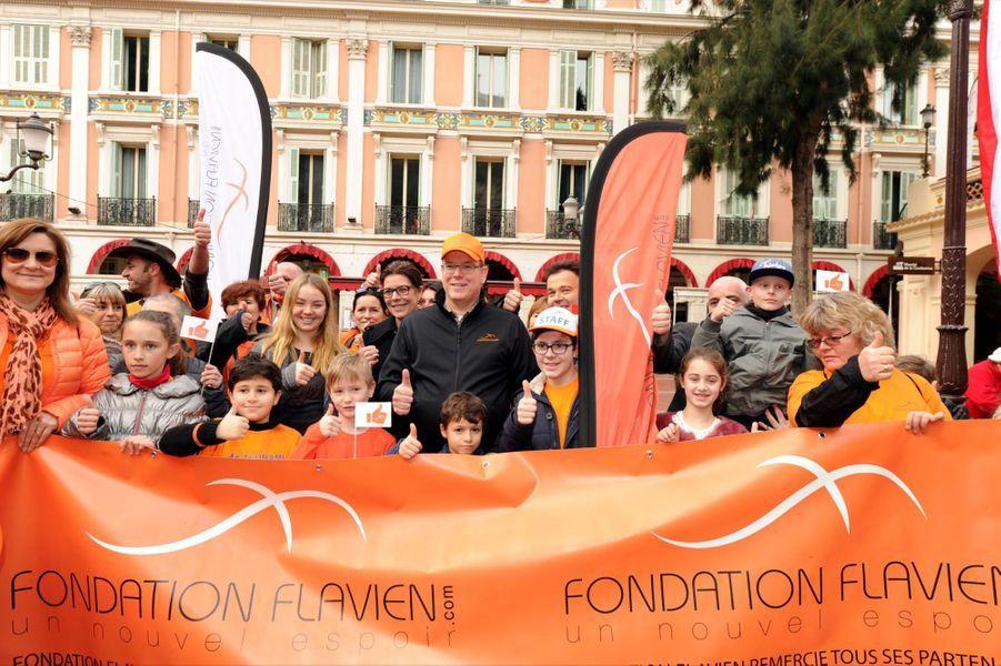 La famille de Monaco marche en souvenir de Flavien