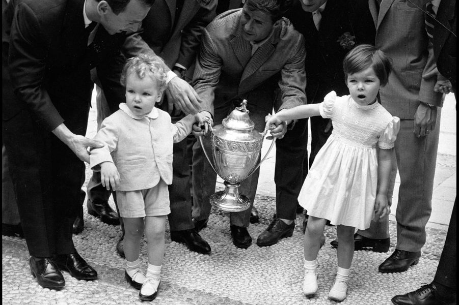 Albert, Caroline et la coupe de France, le 18 mai 1960