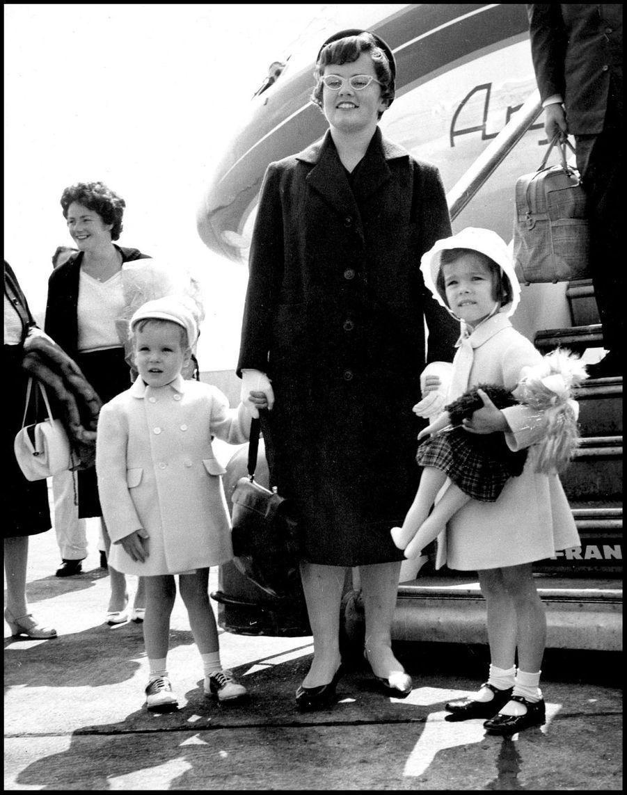 Albert et Caroline à Dublin, le 14 juin 1961