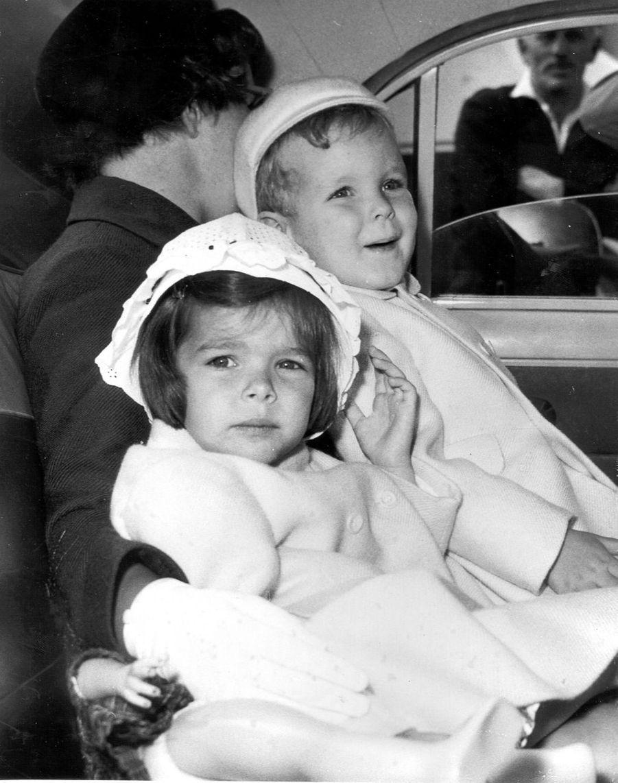 Albert et Caroline, en 1961