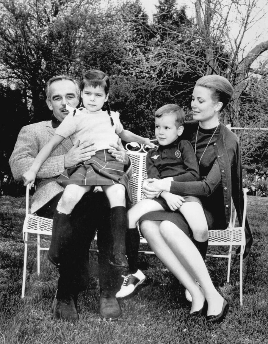 En famille en avril 1963