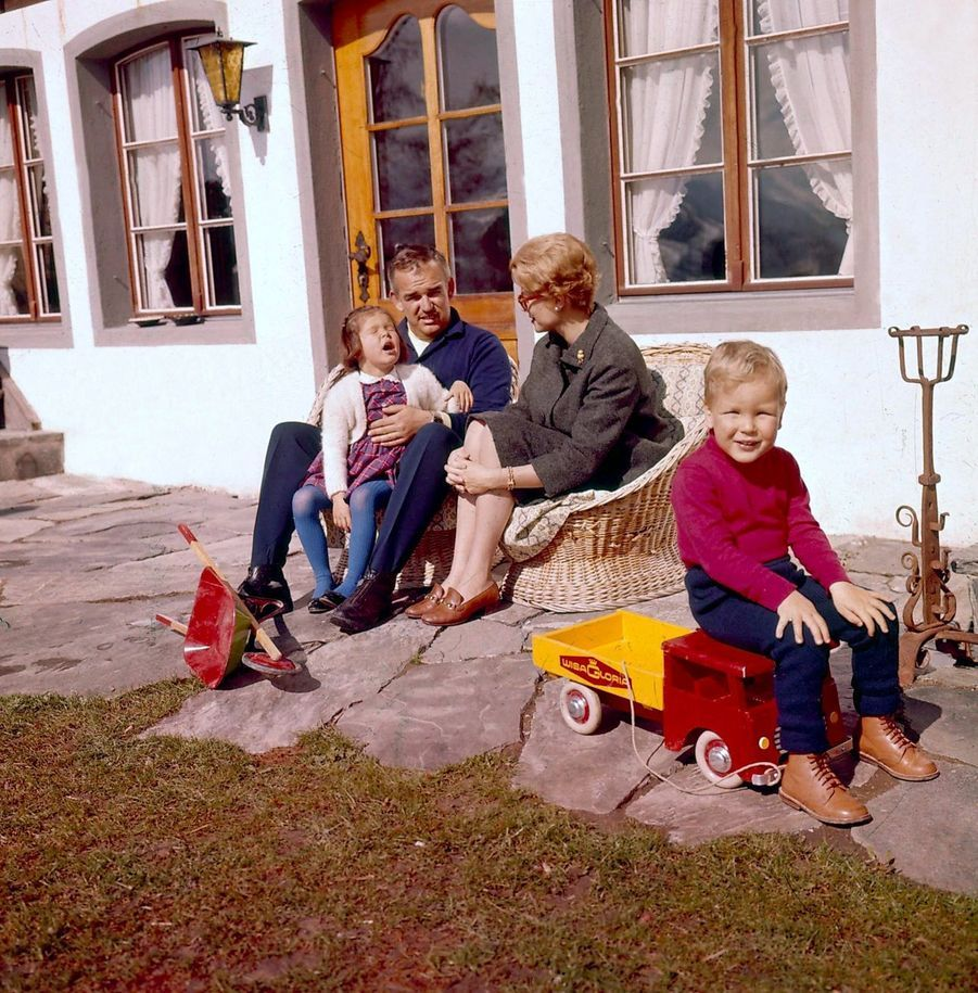 Le prince Albert en famille, 1962