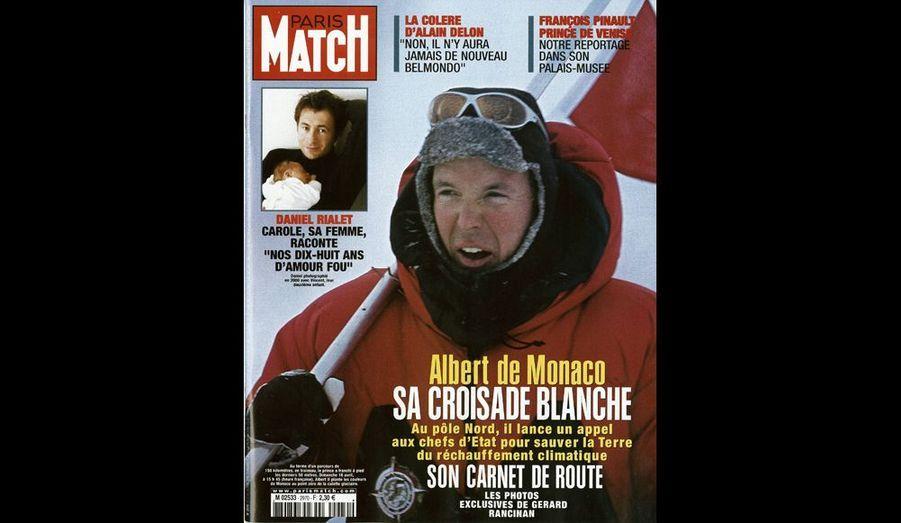 Avril 2000 : « Albert de Monaco : sa croisade blanche »