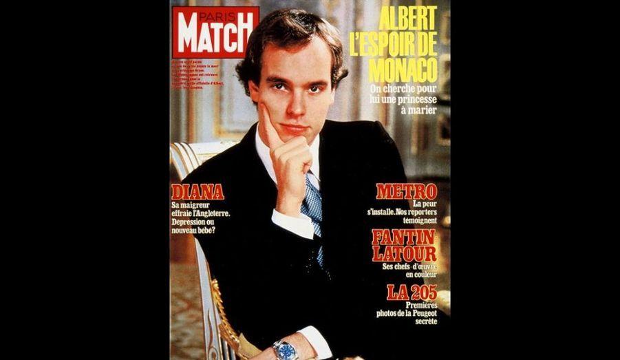 Décembre 1982 : «Albert, l'espoir de Monaco»