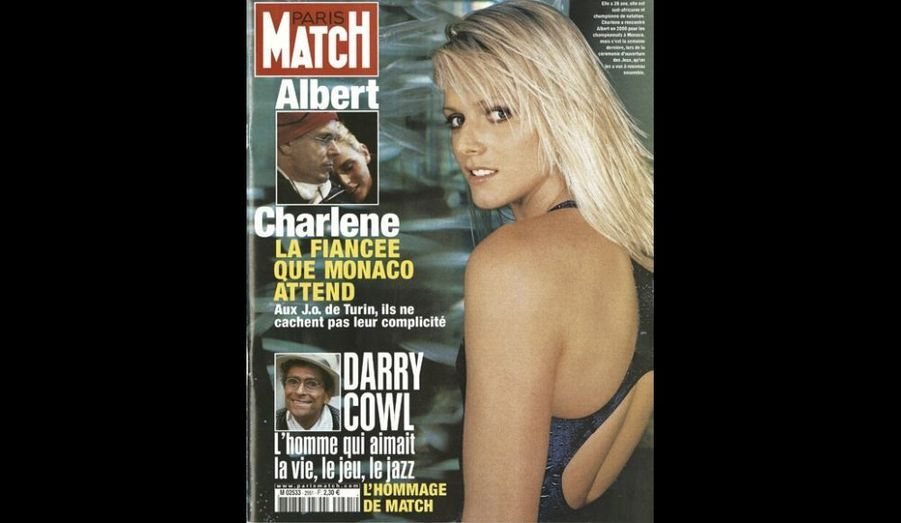 Février 2006 : «Charlene, la fiancée que Monaco attend»