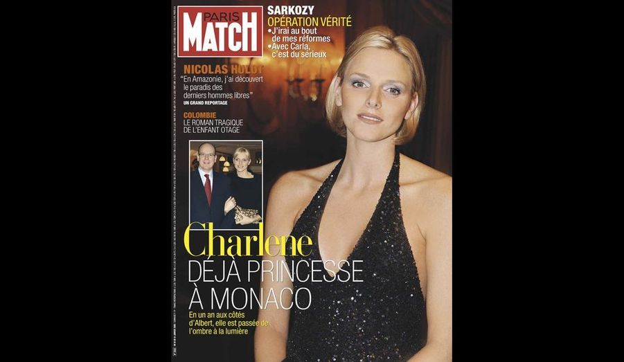 Janvier 2008 : « Charlene déjà princesse à Monaco »