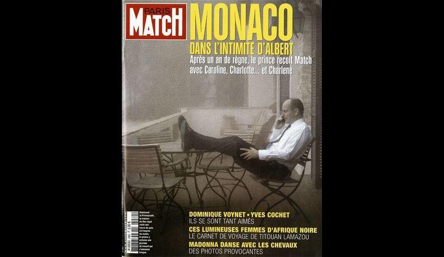 Juillet 2006 : « Monaco : dans l'intimité d'Albert »