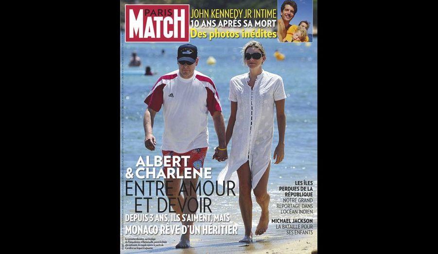 Juillet 2009 : « Albert et Charlene entre amour et devoir »