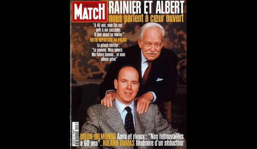 Mars 1998 : « Rainier et Albert nous parlent à coeur ouvert »