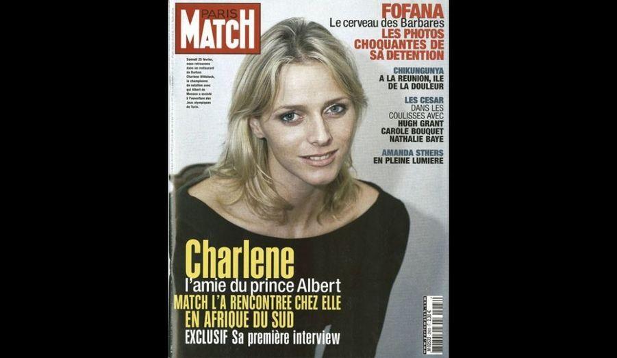 Mars 2006: «Charlene, l'amie du Prince Albert»