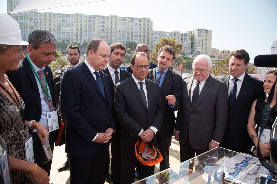 Le prince et le président à Marseille