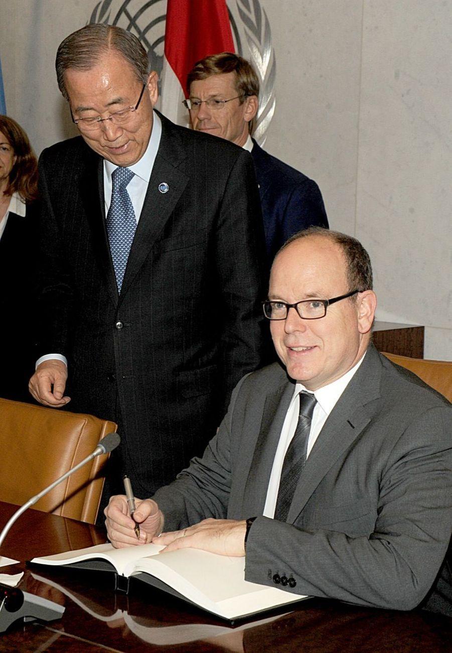 Albert de Monaco, son cadeau à l'ONU