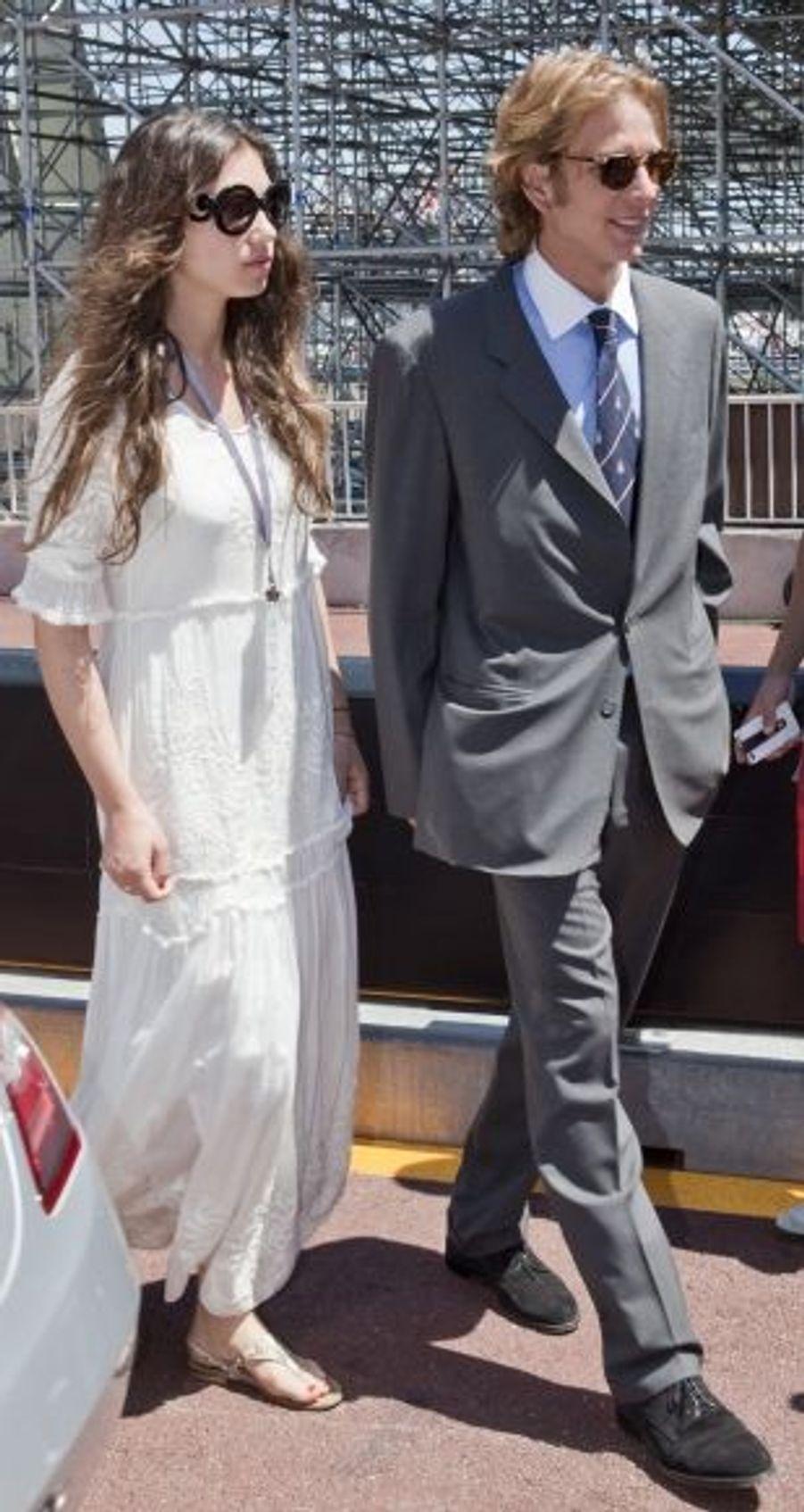 Andrea Casiraghi et Tatiana Santo Domingo