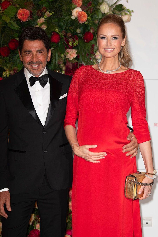 Adriana Karembeu et son époux, Aram Ohanian, vendredi soir.