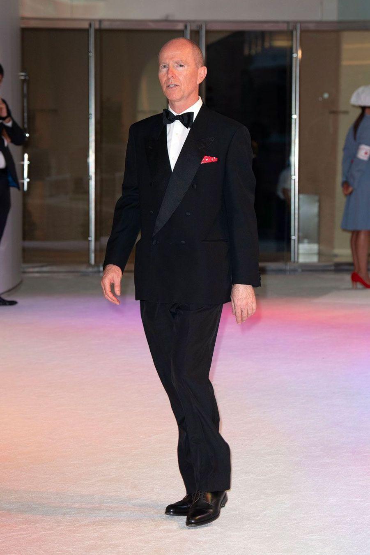 Le prince Michel de Yougoslavie, vendredi soir.