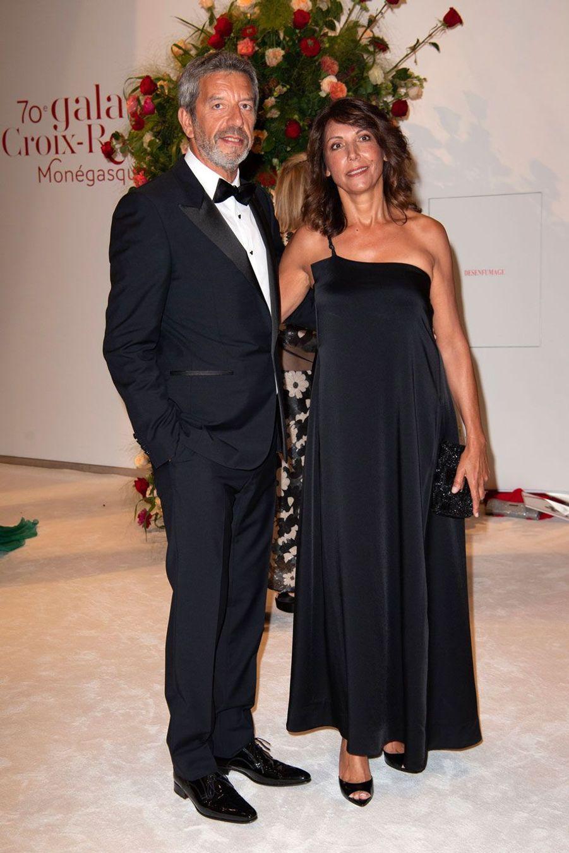 Michel Cymes et son épouse, Nathalie, vendredi soir.