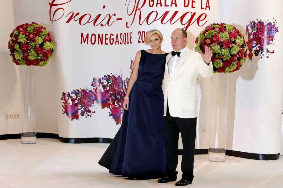Charlene et Albert II Monaco