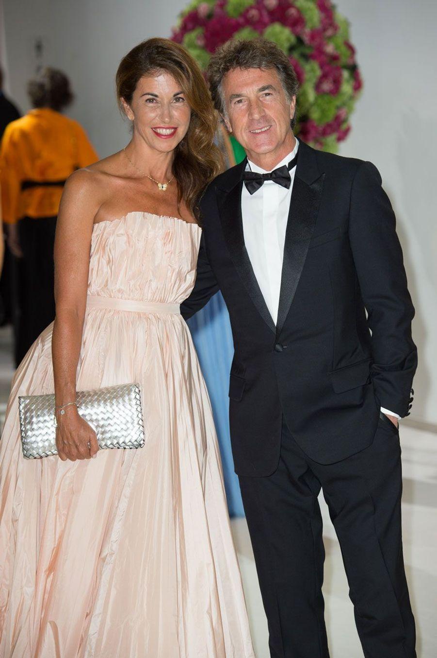 François Cluzet et son épouse, Narjiss