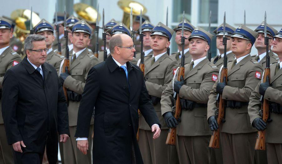 Passage en revue des troupes polonaises