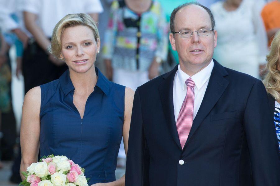 Albert et Charlène, pique-nique de futurs parents à Monaco
