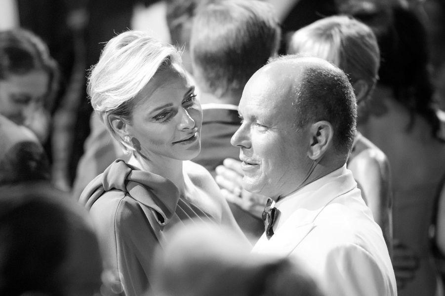 Albert et Charlène, un couple amoureux