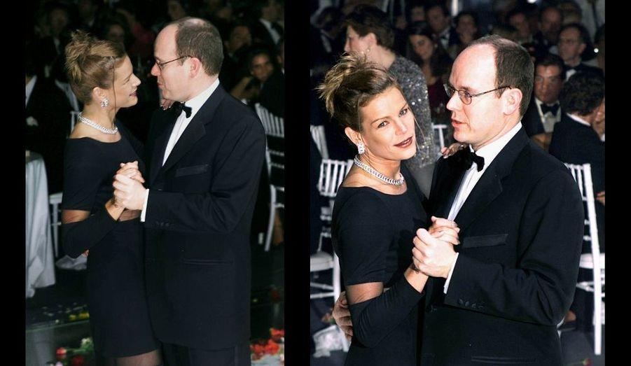 Au bal de la Rose en 1999