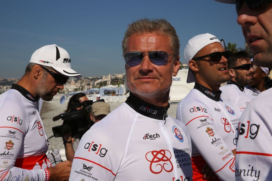 David Coulthard, ancien champion de Formule 1 et résident monégasque depuis plus de deux décennies, était sur la ligne de départ.