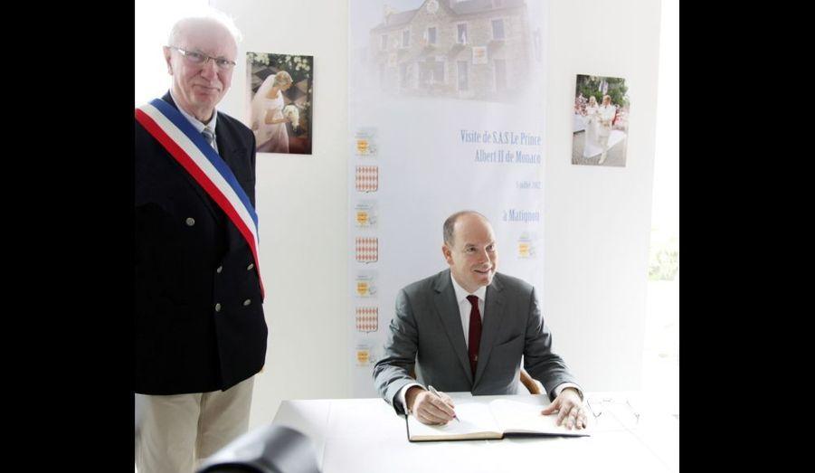 Albert à Matignon