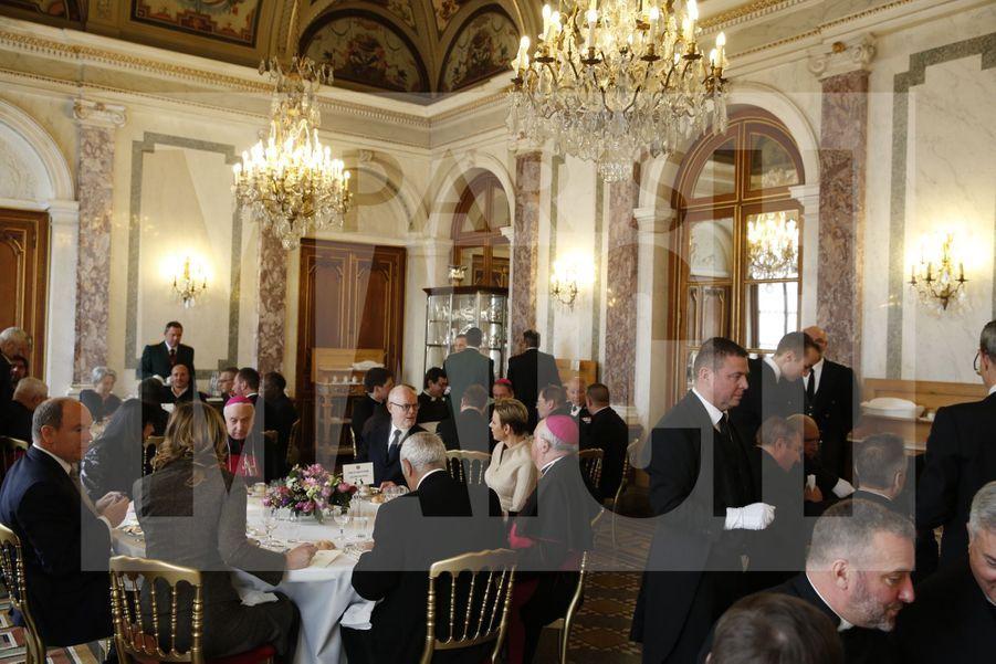 Charlene De Monaco Et Le Prince Albert, Lors Des Celebrations De La Sainte Devote 11