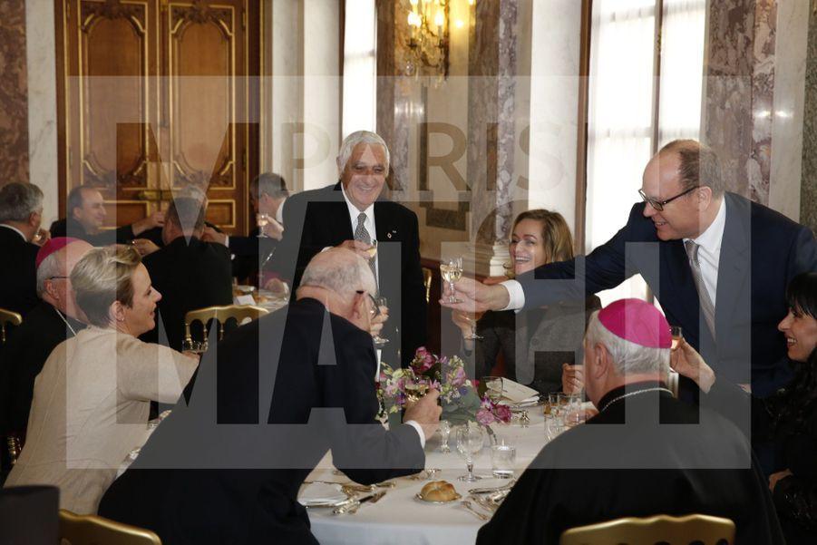 Charlene De Monaco Et Le Prince Albert, Lors Des Celebrations De La Sainte Devote 13