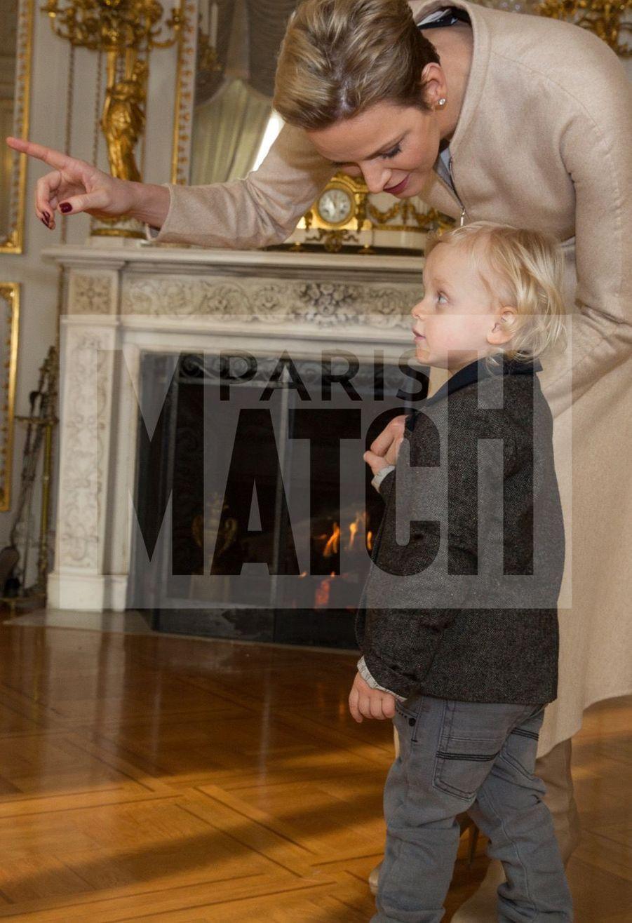 Charlene De Monaco Et Le Prince Albert, Lors Des Celebrations De La Sainte Devote 19