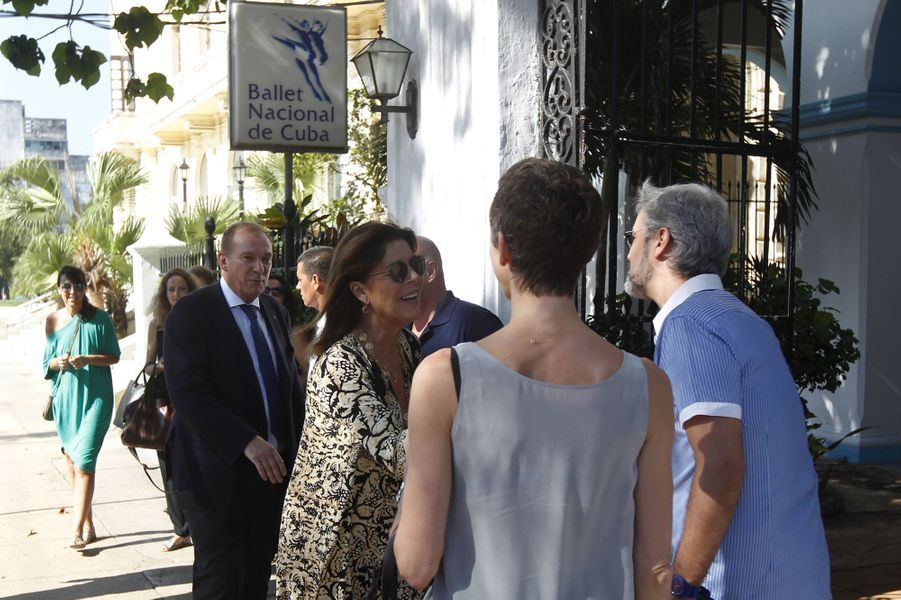 Caroline de Monaco à La Havane, le 30 octobre 2015